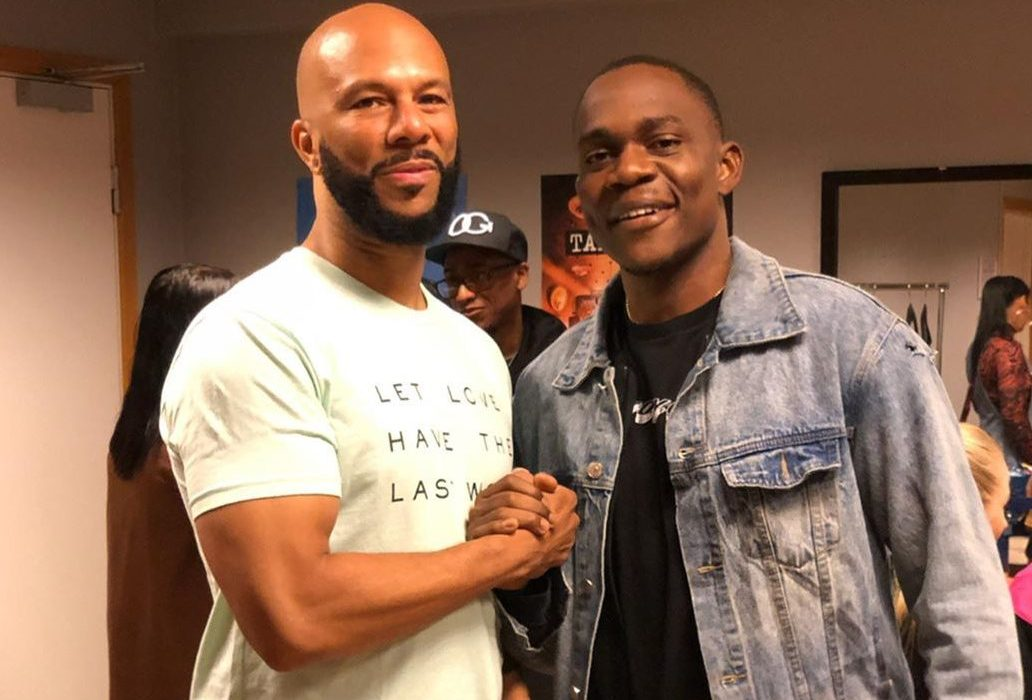 Common Enjoys Ghanaian Rapper, Gemini's Music