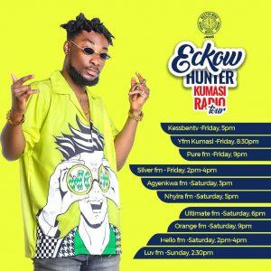 Eckow Hunter - media tour