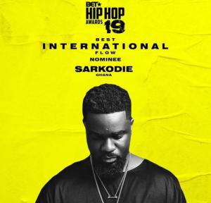 Sarkodie 2019 BET Awards