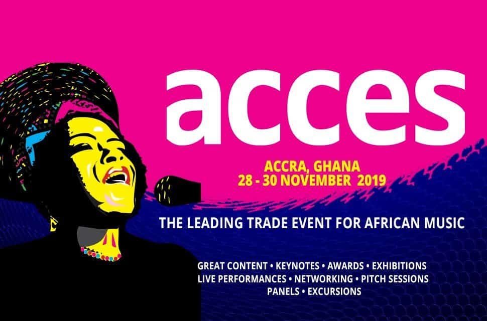 """Music In Africa Is Set to Host an Informative Music Conference Dubbed """"ACCES"""" In Ghana"""