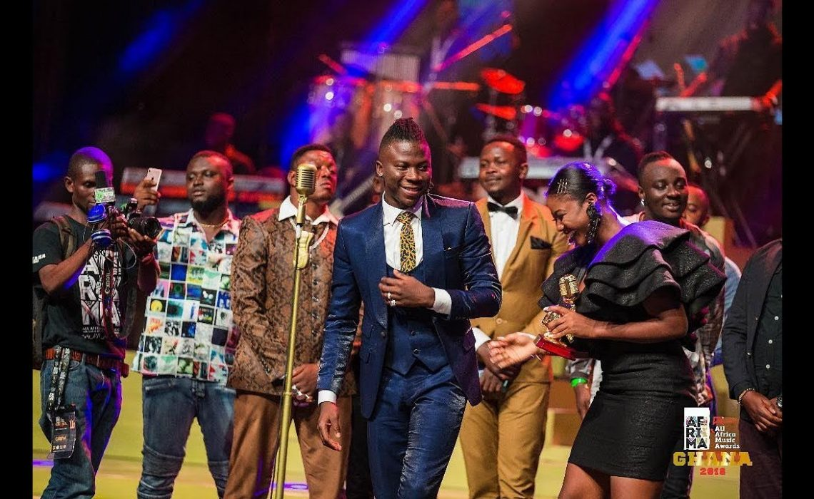 Stonebwoy Wins AFRIMA Best Artist Reggae-Dancehall For Record Third Time