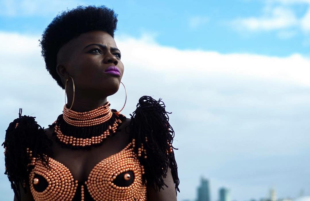 """Wiyaala Crowned """"Artiste of the Year"""" at the Maiden Ghana Arts and Culture Awards"""