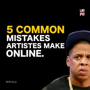 mistakes artists make online