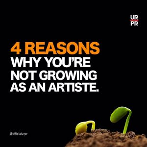 reasons not growing as an artist