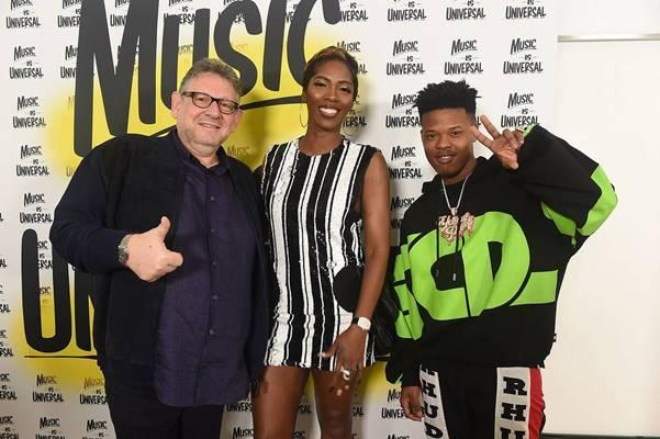 Nasty C and Tiwa Savage Perform at Sir Lucian Grainge's 2020 Artist Showcase