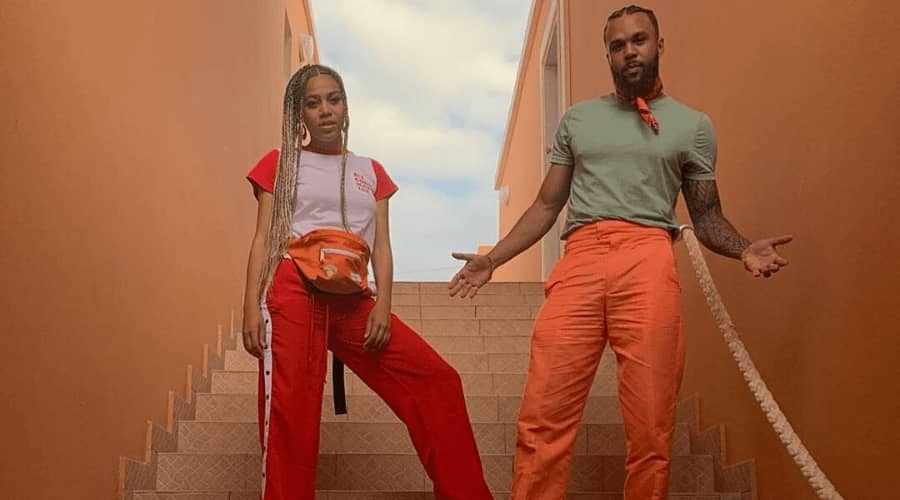 Sho Madjozi and Jidenna Shoot Basketball Bars