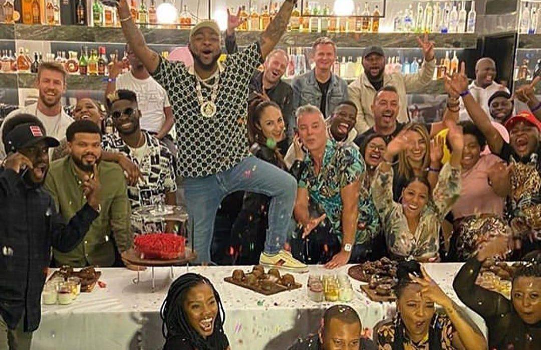Davido Celebrates and Recreates 'A Good Time' Cover as Album goes Platinum