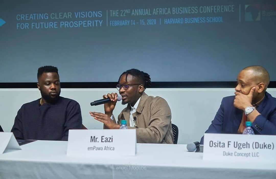 Mr. Eazi Delivers Speech At Harvard Business School