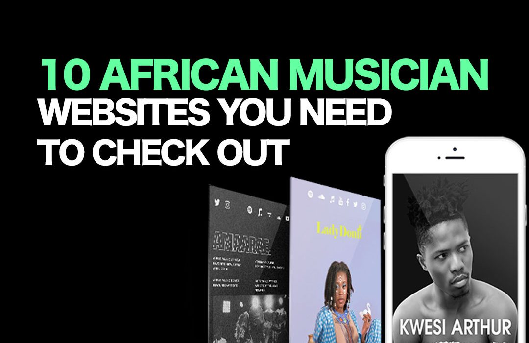 10 Best African Musician Websites