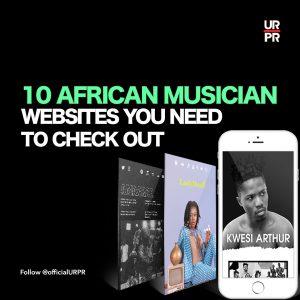 Best African Musician Websites