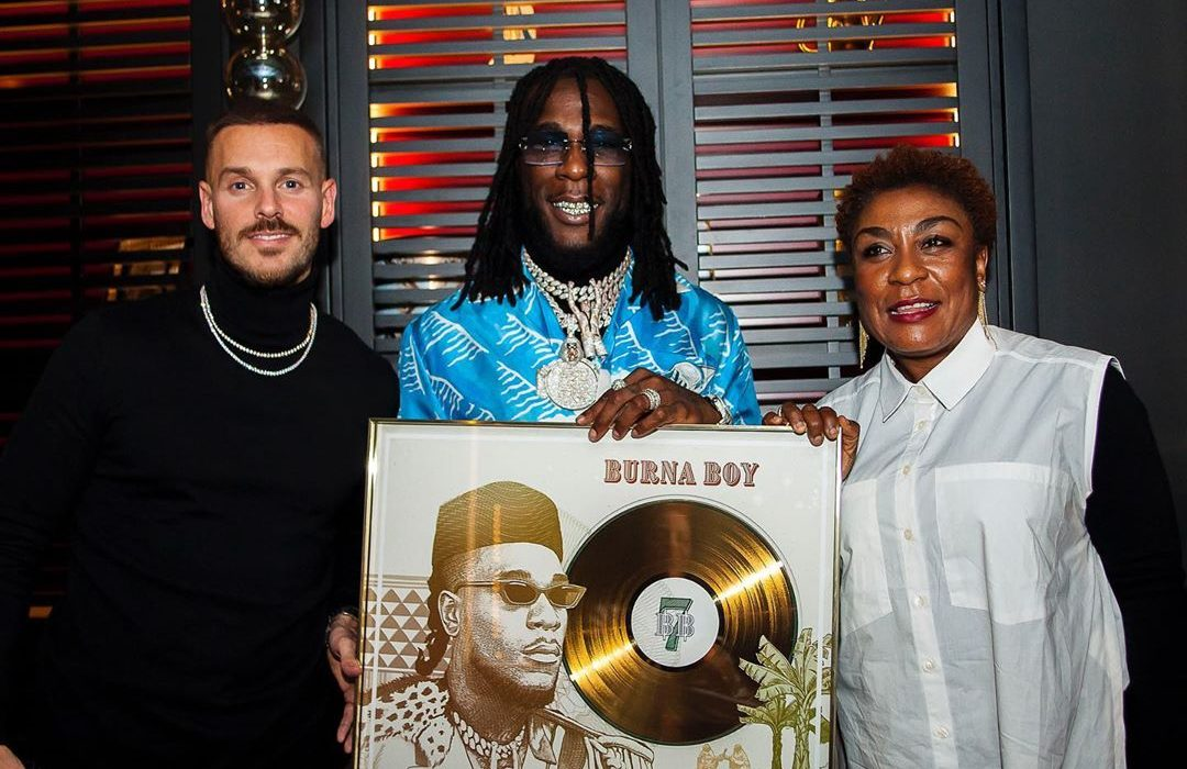 Burna Boy's 'On The Low' Goes Gold In France