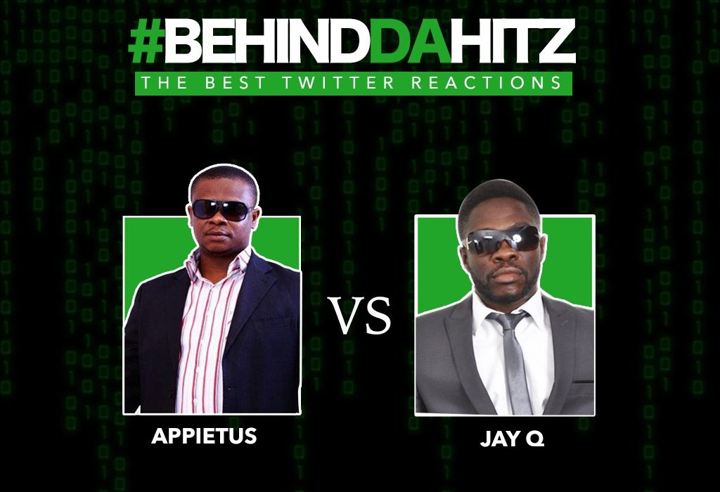 Appietus vs Jay Q #BehindDaHitz Instagram Live Face-off: 20 Best Reactions