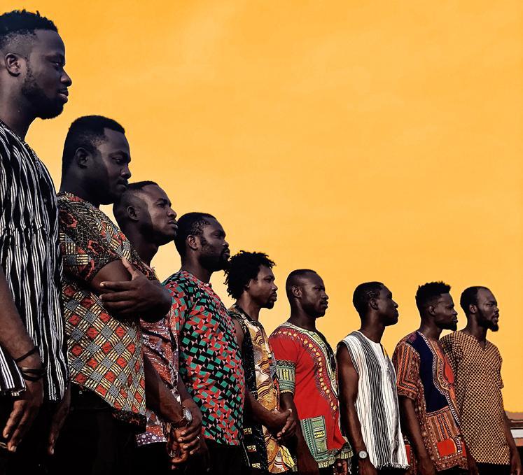 "Ghanaian Band Santrofi's ""Alewa"" Album Tops World Music Charts Europe"