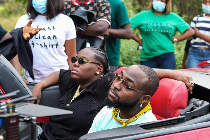 "Davido Risks It All For Teni The Entertainer in Cinematic Visuals for New Single ""For You"""